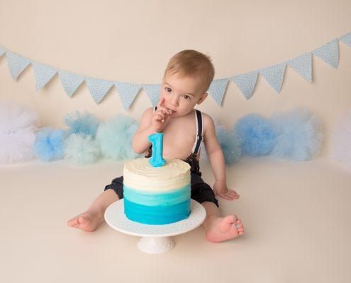 cake smash birthday comox valley photographer