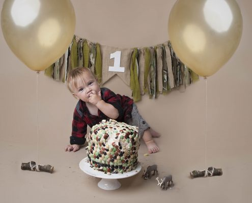 first birthday cake smash photography north vancouver