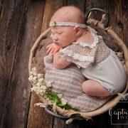 baby in basket cumberland, BC