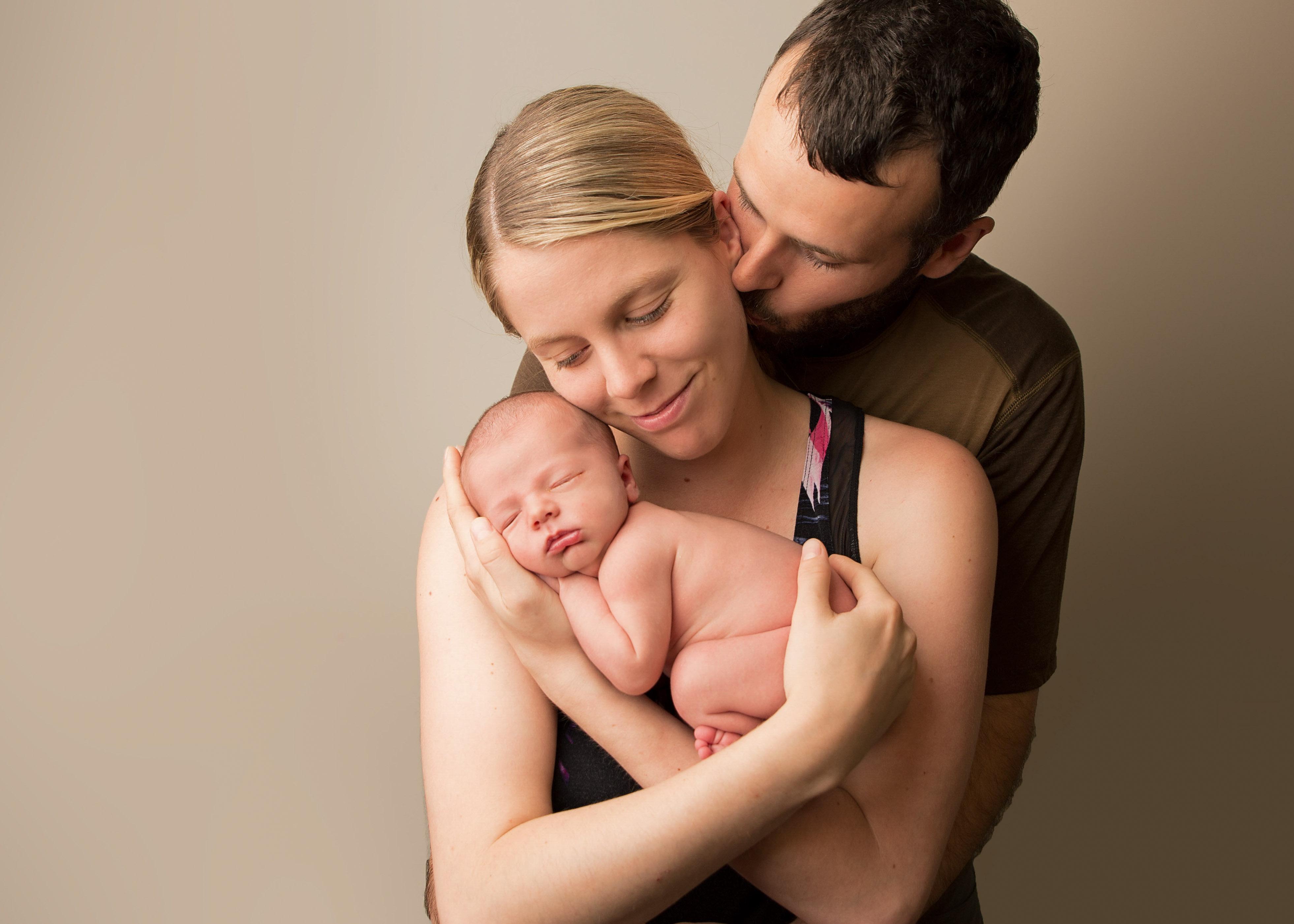 parent and baby portrait comox valley
